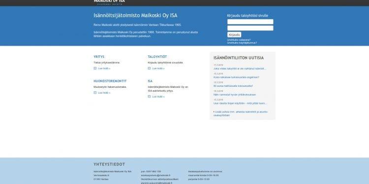 Isännöitsijätoimisto Maikoski Oy